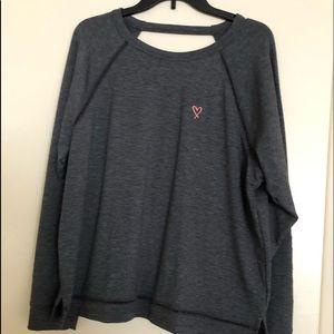 Victoria's Secret dark grey/charcoal sweatshirt.